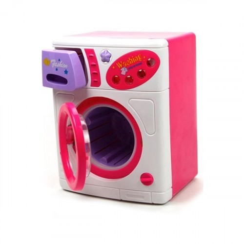 Vardem Oyuncak Pilli Büyük Çamaşır Makinesi 38l/618