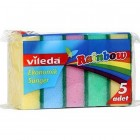 Vileda Rainbow Sünger 5 li