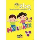 ZBG Zihinsel Becerilerimi Geliştiriyorum - 3 - 4 Yaş Matematik - Kolektif