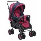 Aldeba 8028 Çift Yönlü Lüks Bebek Arabası (Fuşya)
