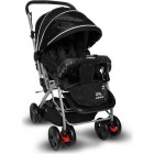Aldeba 8028 Çift Yönlü Lüks Bebek Arabası (Siyah)