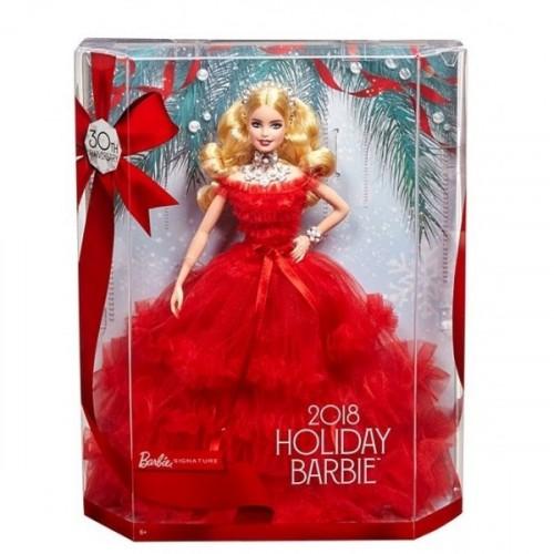 Barbie 2018 Mutlu Yıllar Bebeği FRN69