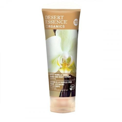 Desert Essence El ve Vücut Losyonu Baharatlı Vanilya Çayı Özlü 237 ml