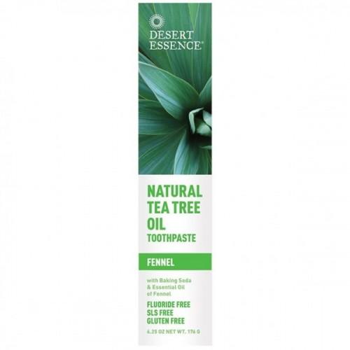 Desert Essence Diş Macunu Doğal Çay Ağacı ve Rezene Özlü 176 ml