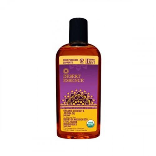 Desert Essence Organik Hindistan Cevizi ve Jojoba Yağı 118 ml