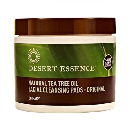 Desert Essence Yüz Temizleme Pedleri Çay Ağacı Özlü 50 li
