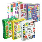 Flash Cards 6'lı Eğitim Seti (Diy-Toy Yayınları)