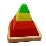 Karsan Oyuncak Ahşap Piramit Yapboz 067KR