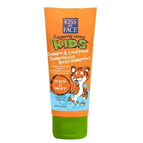 Kiss My Face Şampuan ve Saç Kremi Çocuklar için Doğal 236 ml