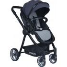 Prava P14 Travel Sistem Bebek Arabası (Siyah-Füme)