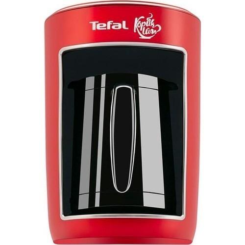 Tefal Köpüklüm Auto Tcm Türk Kahve Makinesi (Kırmızı)