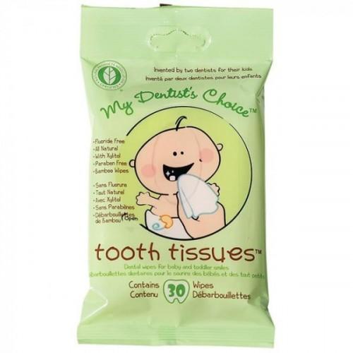 Tooth Tissues Diş Temizleme Mendili 30 lu