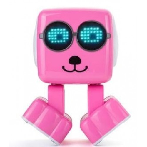 Inovya Akıllı Kup Bluetooth Hoparlor Robot Pembe