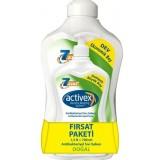 Activex Antibakteriyel Sabun Doğal 1500 ml + 700 ml