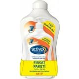 Activex Antibakteriyel Sıvı Sabun Aktif Koruma 1500 ml + 700 ml Hediye