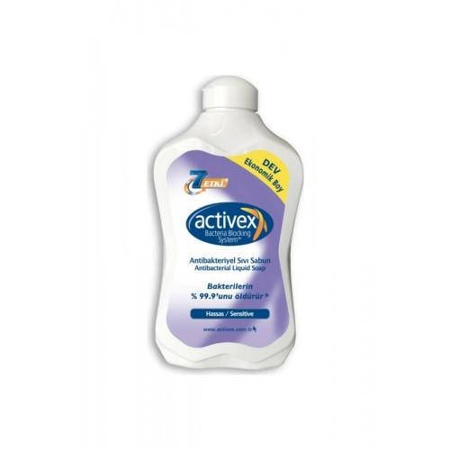 Activex Antibakteriyel Sıvı Sabun Hassas 1500 ml