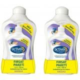 Activex Antibakteriyel Sıvı Sabun Hassas 1500 ml + 700 ml x 2 Adet