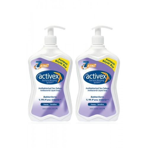 Activex Antibakteriyel Hassas Sıvı Sabun 700 ml x 2 Adet