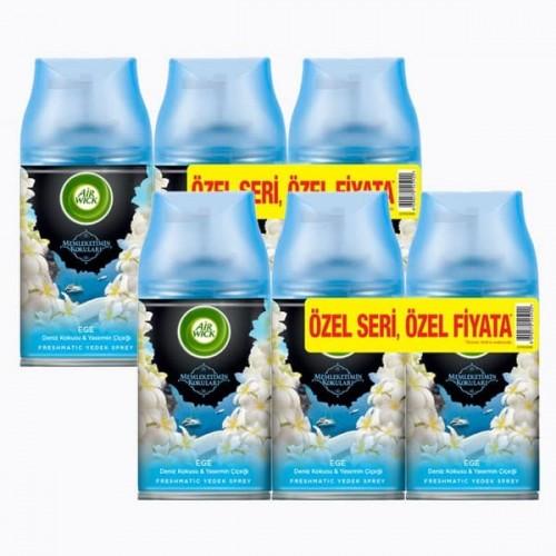 Airwick Freshmatik Yedek Sprey Ege 3 lü x 2 Adet