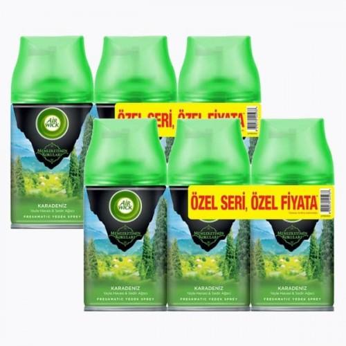 Airwick Freshmatik Yedek Sprey Karadeniz 3 lü x 2 Adet