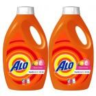 Alo Sıvı Çamaşır Deterjanı Gül Bahçesi 26 Yıkama 1,69 lt x 2 Adet