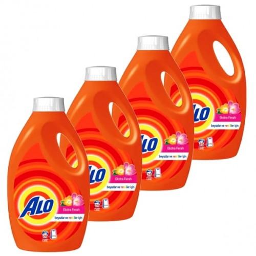 Alo Sıvı Çamaşır Deterjanı Gül Bahçesi 26 Yıkama 1,69 lt x 4 Adet