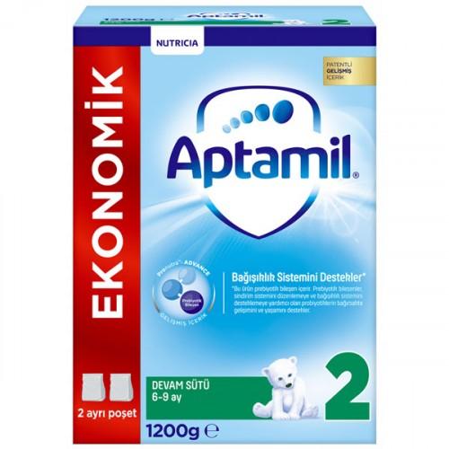 Aptamil 2 Devam Sütü Yeni Formül 1200 gr