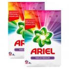 Ariel Matik Toz Deterjan Parlak Renkler 6 kg x 2 Adet