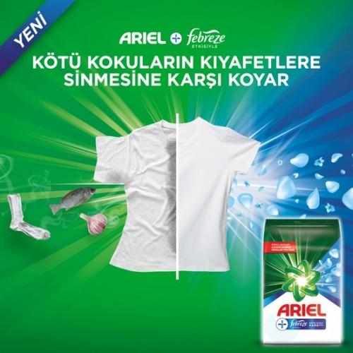 Ariel Plus Toz Çamaşır Deterjanı Febreze Etkili Parlak Renkler 5 kg