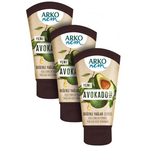 Arko 3'lü Değerli Yağlar Avokado Yağı 3 x 60 ml
