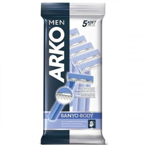 Arko Men Tıraş Bıçağı Banyo 5 li