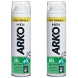 Arko Men Tıraş Jeli Anti Irritation 200 ml x 2 Adet