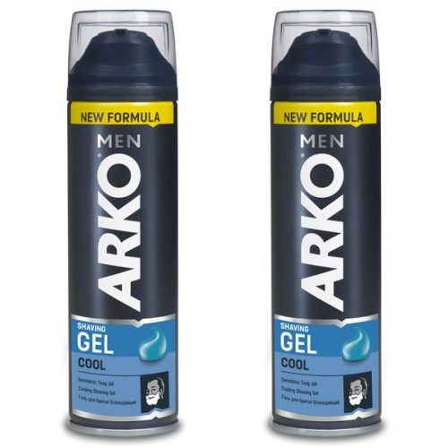 Arko Men Tıraş Jeli Cool 200 ml x 2 Adet