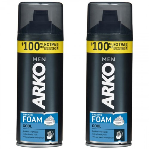 Arko Men Tıraş Köpüğü Cool 300 ml x 2 Adet