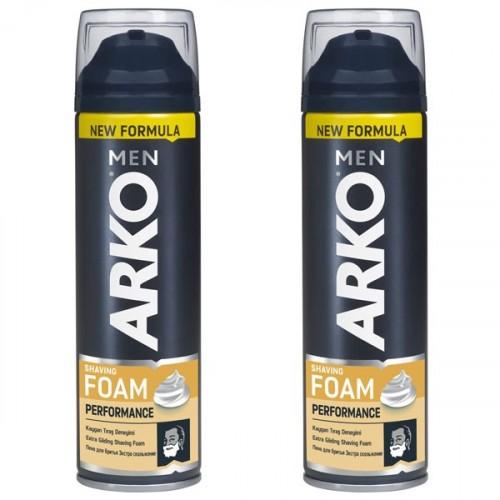 Arko Men Tıraş Köpüğü Performance 200 ml x 2 Adet