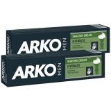 Arko Men Tıraş Kremi Hydrate Nemlendirici 100 gr x 2 Adet