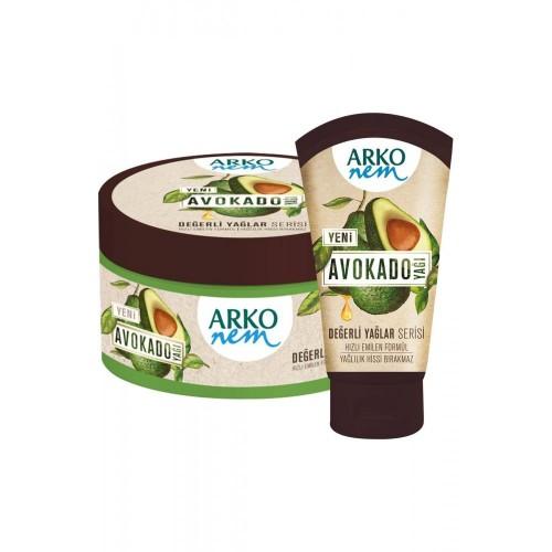 Arko Nem Değerli Yağlar Avokado El ve Vücut Kremi 250 ml + 60 ml