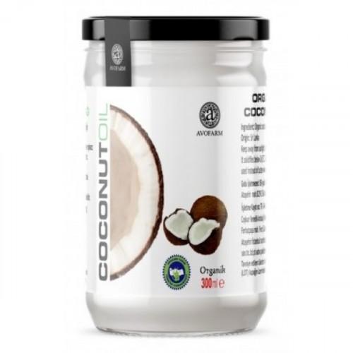 Avofarm Organik Hindistan Cevizi Yağı 300 ml