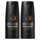 Axe Deodorant Sprey Dark Temptation 150 ml x 2 Adet