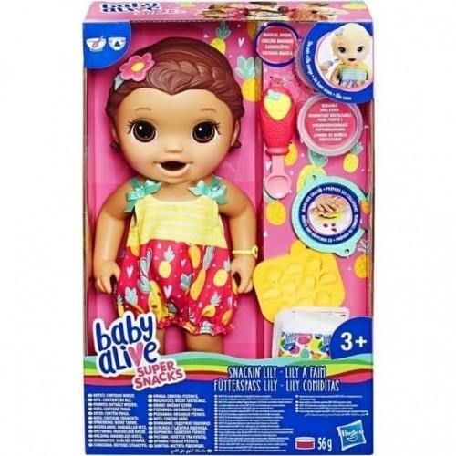 Baby Alive Lily ile Mama Eğlencesi Kumral e5842