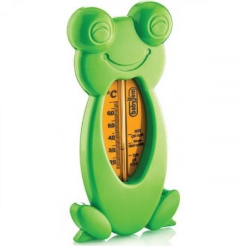 Babyjem Kurbağa Banyo & Oda Termometresi Yeşil