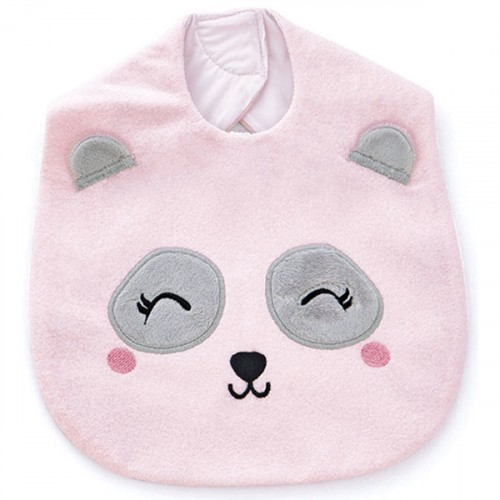 Babyjem Panda Mama Önlüğü Pembe