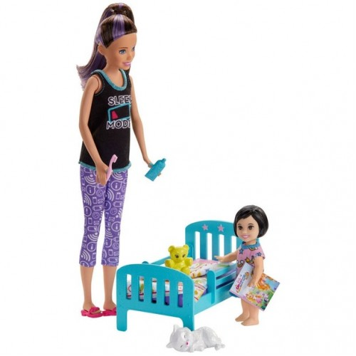 Barbie Bebek Bakıcılığı Oyun Seti GHV88