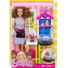 Barbie Evcil Hayvan Bakıcısı Oyun  Seti FJB31