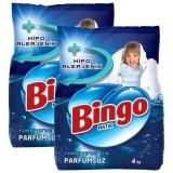 Bingo Matik Toz Çamaşır Deterjanı Parfümsüz 4 kg x 2 Adet