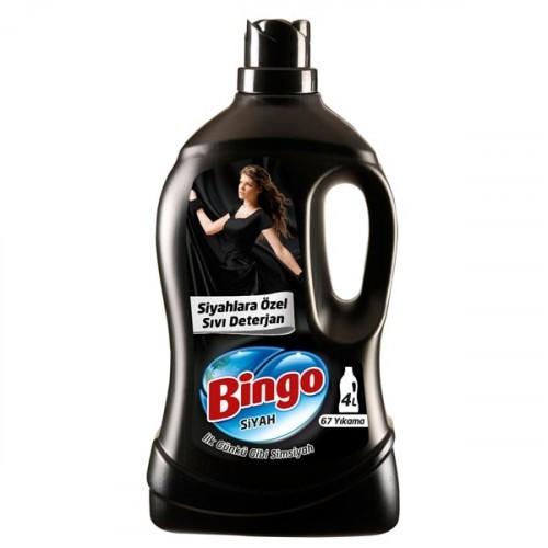 Bingo Sıvı Çamaşır Deterjanı Siyahlara Özel 4 lt