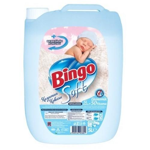 Bingo Soft Kuzumun Kokusu Çamaşır Yumuşatıcısı 5 lt