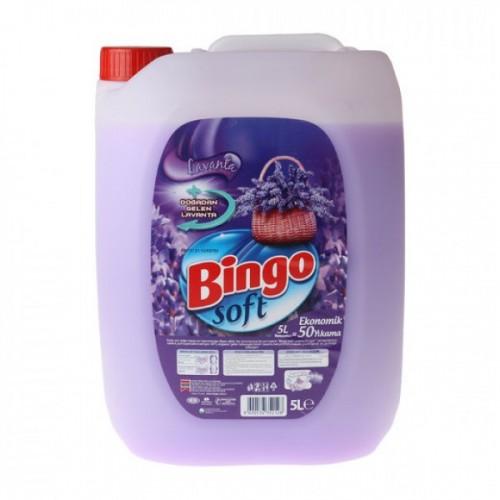 Bingo Soft Lavanta Rüzgarı Çamaşır Yumuşatıcısı 5 lt