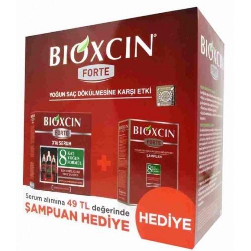Bioxcin Forte Serum 30 mm x 3 Adet + Forte Şampuan Set