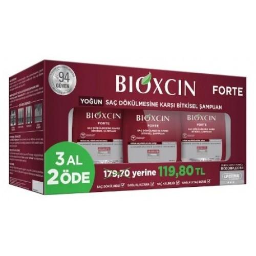 Bioxcin Forte Tüm Saç Tipleri İçin Şampuan 300 ml (3 Al 2 Öde)